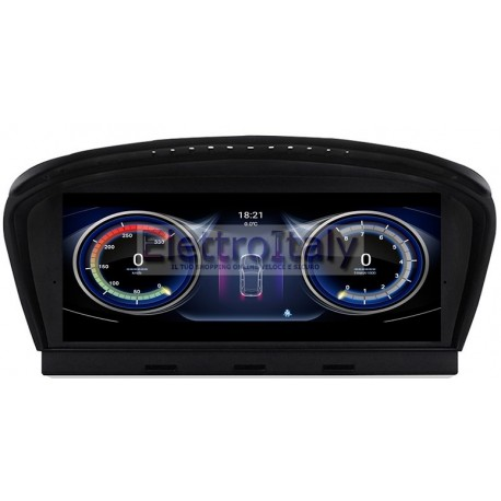 Navigatore Android GPS BMW Serie 5 E60 F20 Serie 2 F22 Multimediale
