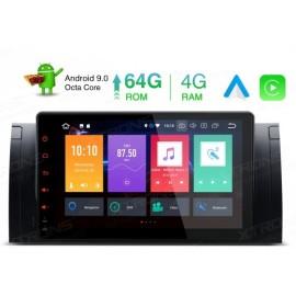 Autoradio Navigatore 9 pollici Bmw Serie E53 E39 X5 Android 9 Octacore Multimediale