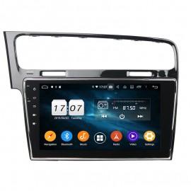 Autoradio volkswagen Golf 7 Navigatore Android 10 Octacore DAB