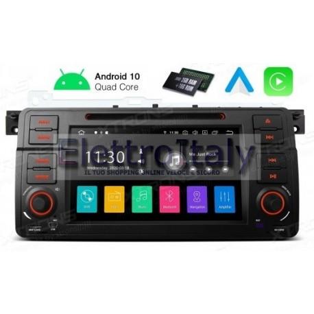 Autoradio Navigatore Bmw Serie E46 Android 10 Multimediale