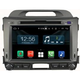 Navigatore Kia Sportage 8 pollici Android 10 Octacore DAB