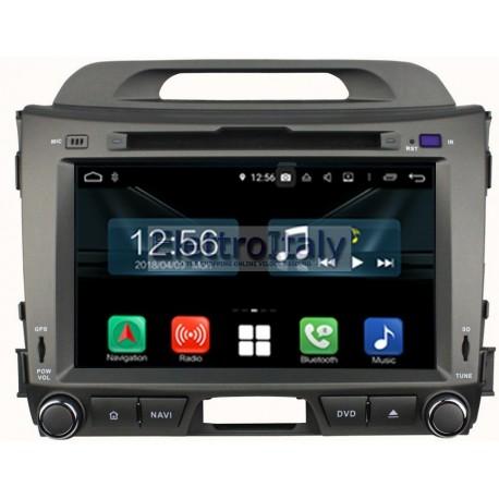 Navigatore Kia Sportage 8 pollici Android 8 Octacore