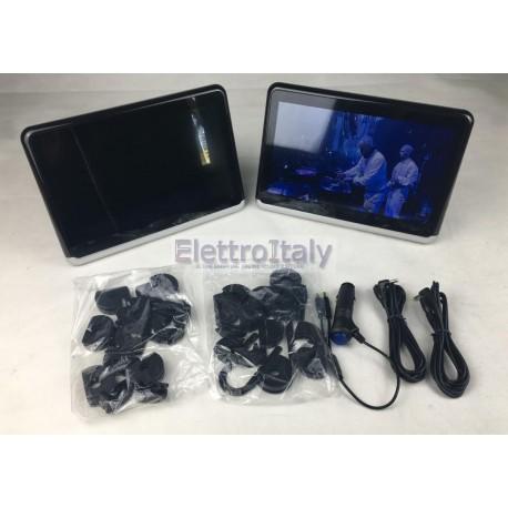Coppia Monitor 10 pollici Android WiFi poggiatesta