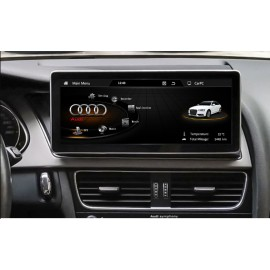Navigatore Android GPS AUDI Q5 MMI 10 pollici Multimediale HD Carplay