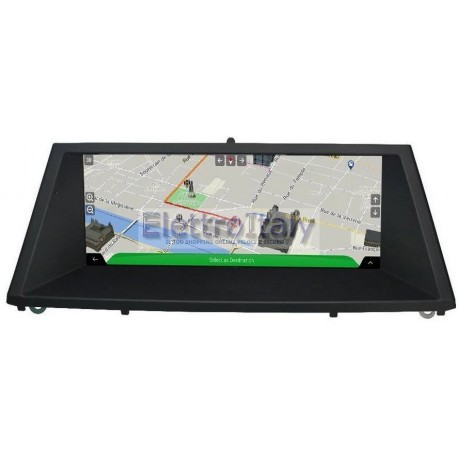 Navigatore BMW X5 X6 CCC 8 pollici Android GPS Multimediale