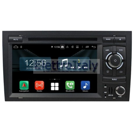 Cartablet Navigatore Audi A4 Multimediale Android 8 Octacore