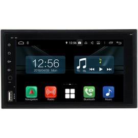 Autoradio Navigatore 2 DIN universale 6,2 pollici Android 10 dab