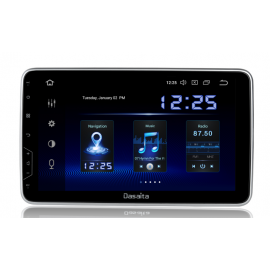 Cartablet Autoradio Navigatore 1 DIN universale 10 pollici Android 9 DSP DAB Carplay Android Auto HDMI