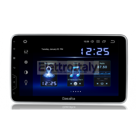 Cartablet Autoradio Navigatore universale 10 pollici Android 9 DSP DAB Carplay Android Auto HDMI