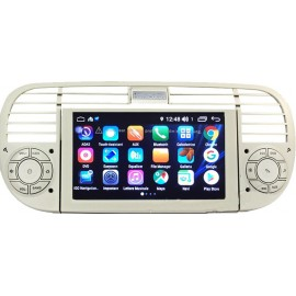 Cartablet Navigatore Fiat 500 Android 9 Octacore