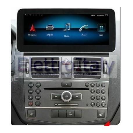 Navigatore 10 pollici Mercedes Classe C GLC NTG 40 Android 10