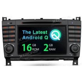 Navigatore Mercedes Classe C W209 W203 W463 Android 10