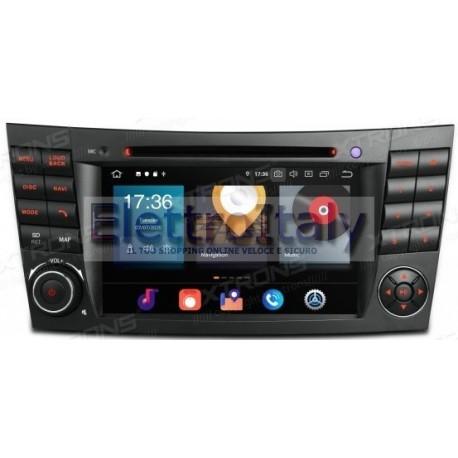 Navigatore Mercedes Classe E W211 W43 CLS W219 Android 10 Octacore