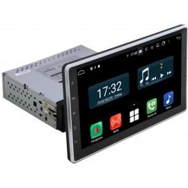 Cartablet Autoradio Navigatore universale 1 din 10 pollici Android