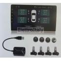 Monitoraggio pressione gomme kit TPMS Sensori interni