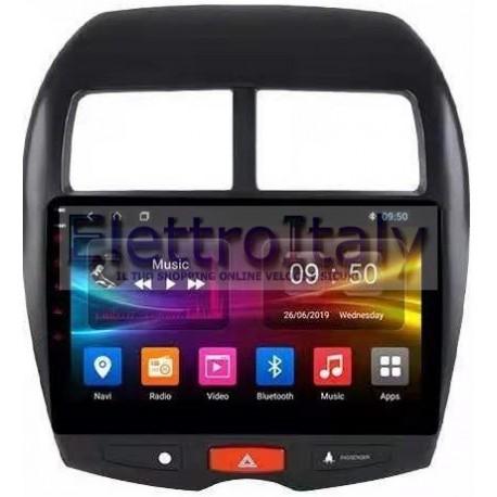 Navigatore Mitsubishi ASX Peugeot 4008 Citroen C4 10.2 Pollici Octacore 4Gb Android 10 WiFi