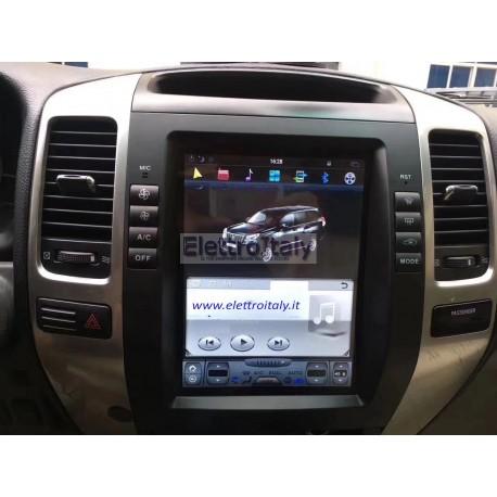 Cartablet Toyota Land Cruiser TESLA Android