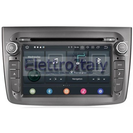 Navigatore Autoradio Alfa Mito Multimediale Android 10