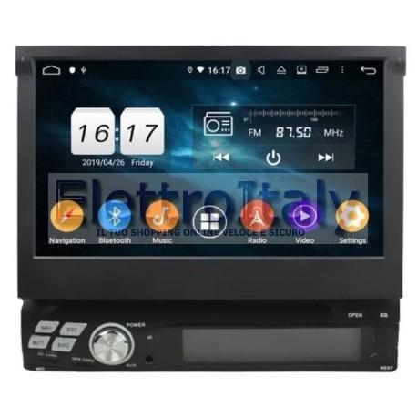 Cartablet Autoradio Navigatore universale 1 din 7 pollici Android