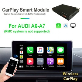 Carplay android auto wireless per AUDI A6 A7