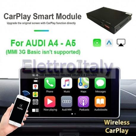 Carplay android auto wireless per AUDI A4 A5 Q5 MMI 3G