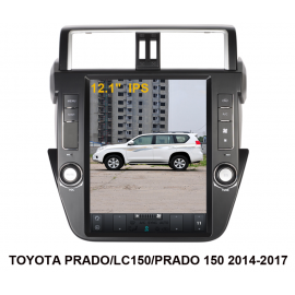 Cartablet Toyota Land Cruiser 2017 TESLA Android