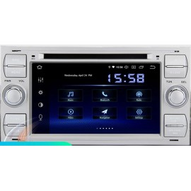 Autoradio Navigatore Ford Kuga Focus S-Max C-Max Fiesta Transit Galaxy Multimediale Android 10