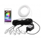 Kit Illuminazione Ambient interno 5 led RGB in Fibra ottica con APP