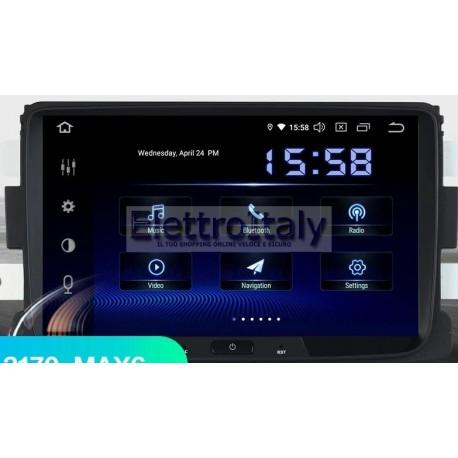 Autoradio Navigatore Dacia Duster 8 pollici Android 8