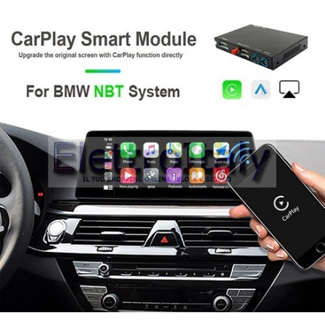 Carplay android auto wireless per BMW NBT 6.5/8.8 pollici