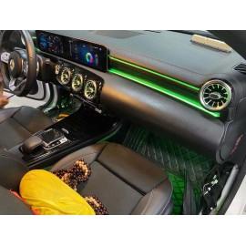 Kit Illuminazione Ambient interno nuova Mercedes Classe A W177 CLA W118 OBD