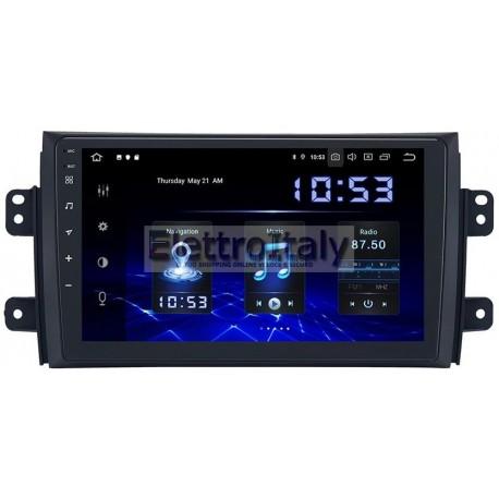 Cartablet Navigatore Suzuki SX4 Fiat Sedici 9 pollici Android 9 Octacore
