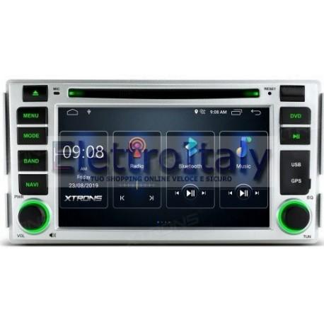 Autoradio Navigatore Hyundai santa fe Android Quadcore