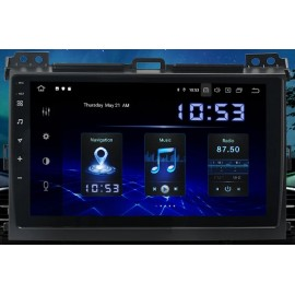 Autoradio Navigatore Toyota Land Cruiser PRADO android Multimediale