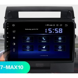 Autoradio Navigatore Toyota Land Cruiser LC200 Android Multimediale