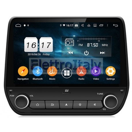 Navigatore Ford Fiesta Ecosport Android 8 Octacore