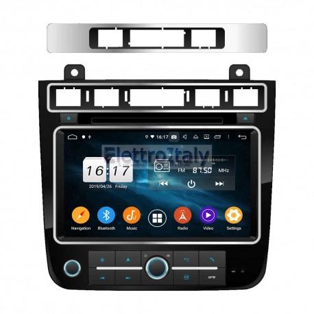 Autoradio Navigatore Volkswagen Touareg 8 Pollici Multimediale CT8010