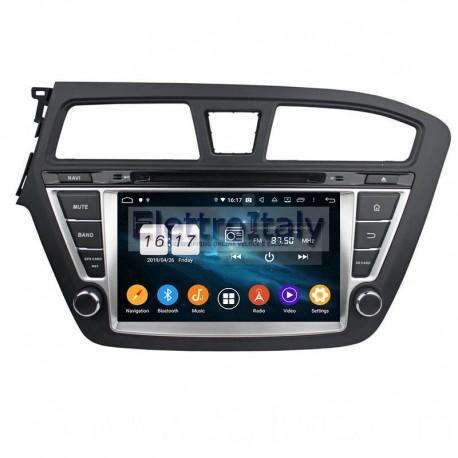 Navigatore Hyundai I20 8 pollici Android 6 Octacore