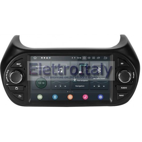 Cartablet Navigatore Fiat Fiorino Qubo Nemo Bipper Android
