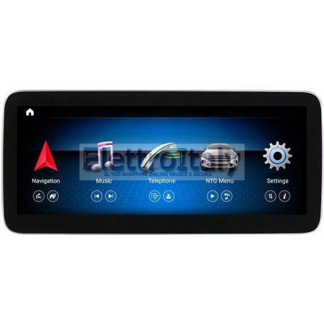 Cartablet Navigatore 12 pollici Mercedes Classe A CLA GLA CLS NTG 5x Android DSP