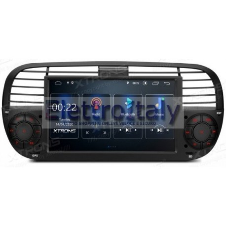 Navigatore Fiat 500 Android 10
