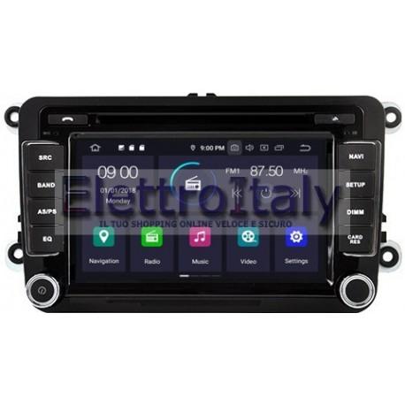 Navigatore Volkswagen Skoda Seat 7 Pollici Android 10 WiFi