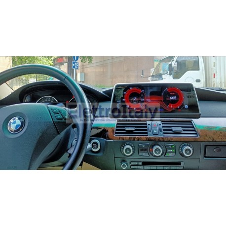 Cartablet Navigatore Android GPS BMW CCC Serie 5 E60 Multimediale