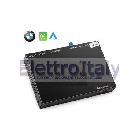 Carplay android auto wireless per BMW EVO NBT/EVO/ID5/ID6