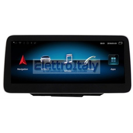Navigatore 10 pollici Mercedes Classe B NTG 5 Android 10