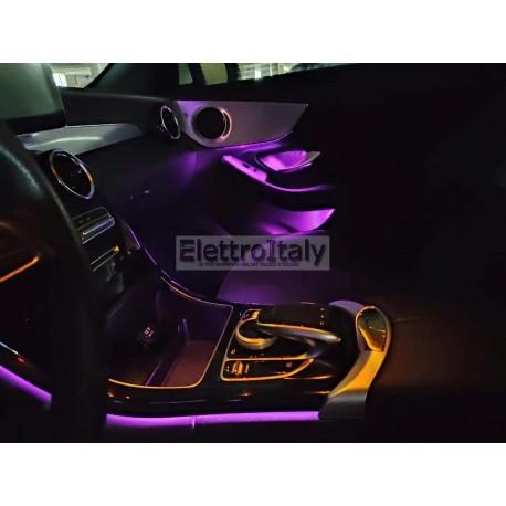 Kit Illuminazione Ambient interno Mercedes Classe C Coupe W205 OBD APP