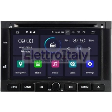 Navigatore Peugeot 3008 5008 Android 8 Octacore