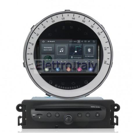 Autoradio Navigatore BMW Mini Cooper Multimediale Android 10