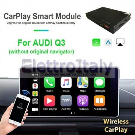 Carplay android auto wireless per AUDI Q3 base