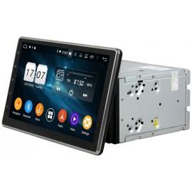 Cartablet Autoradio Navigatore universale 2 din 10 pollici Android